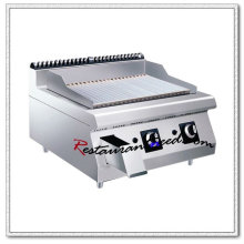Grillade de Kebab de gaz de comptoir d'acier inoxydable de K453