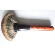 Brosse à cheveux à trois couleurs Professional Foundation Brush