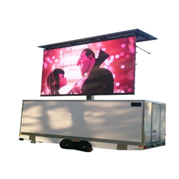 Outdoor Commercial Advertising  Mobile Trailer LED Display