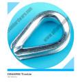 Nous dégringolent la corde résistante plaquée par zinc standard de G414
