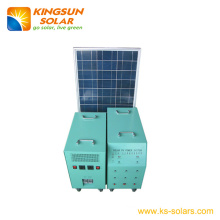 Solar Home Power System Solar Panel: 120*2W; Battery: 120ah