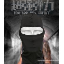 Sports de plein air militaire Airsoft tactique tête hotte 1 trou tête visage masque
