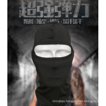 Outdoor Sports Military Airsoft Tactical Head Hood 1 Hole Head Face Mask