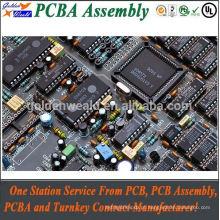 controle de acesso pcba com ouro de imersão e 94v0 rohs pcb board pcba fábricas