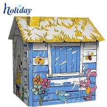 casa de juegos de tela para niños al aire libre
