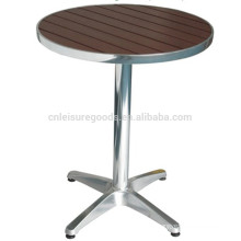 Uplion MY6003A stainless steel round bistro table