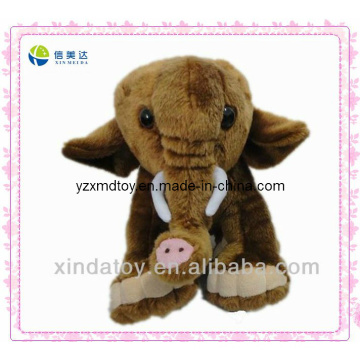 Plush Brown Elephant Toys (XMD-0002C)