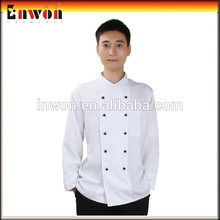 Mans Classic white kitchen clothes chef uniform jacket