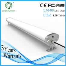 Epistar Wasserdichtes 2FT / 4FT / 5FT LED Tri-Proof Licht für Parkplatz