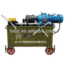 Máquina de roscado de pernos de anclaje JBG-40T / máquina de tubos roscados