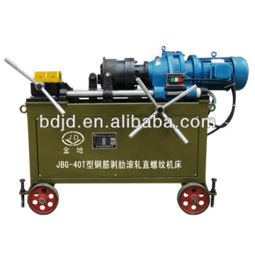 JBG-40T Anchor bolt threading machine / threaded machine pipe