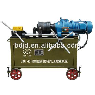 Machine à fileter les boulons d'ancrage JBG-40T / machine à tubes filetés