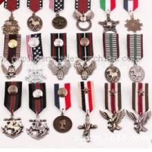 OEM Heißer Verkauf Klassische Kostüm Revers Medaille Abzeichen