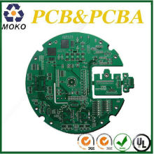MK Quick 2 oz ,2mm,Double-sided round PCB Board For digitals