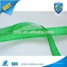 Fita adesiva de segurança fita adesiva de fita adesiva fita vazada para selagem de saco de segurança