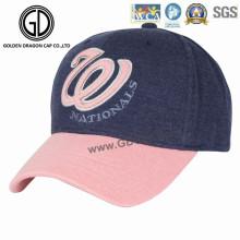 2016 Grande bonnette de baseball broderie colorée à la mode
