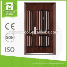 Gute Qualität Stahlhaupttür Design Günstige Stahlsicherheitstüren