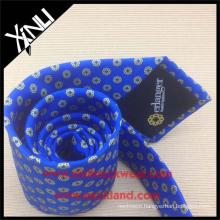 Azo Free Men New Fashion Chinese Wholesale Silk Print Neck Tie Custom