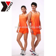 high quality sublimation unisex custom running wear unbranded wholesale sportswear