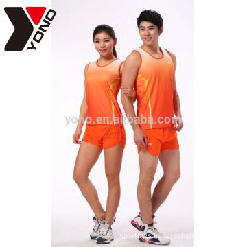 high quality sublimation unisex custom running wear unbranded wholesale sportswear