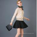 Lady's Fashion Cashmere Blend Cardigan 17brpv045
