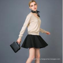 Женская мода Cashmere Blend Cardigan 17brpv045