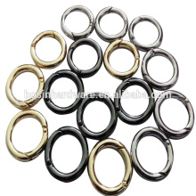 Fashion Spring Ring Metal Various Size Round Ring
