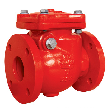 UL Flanged End Swing Check Valve (XQH-300)