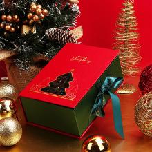 Christmas Gift Packaging Custom Magnetic Socks Paper Box