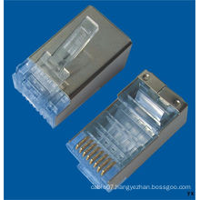 RoHS Approved S/FTP CAT6 RJ45 Connector (CE)