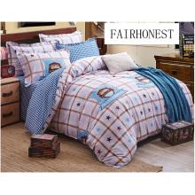 Patchwork Bedding Set Printed Bedding Set (high quality) F1716