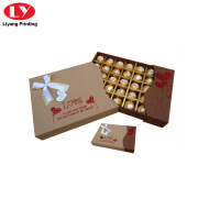 presentförpackning choklad tryffel praline box