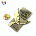 Aangepaste gold plating pin badges voor evenement