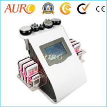 Au-61b Cellulite Reduce Lipo Laser Sextupole RF Vacuum Slimming Equipment