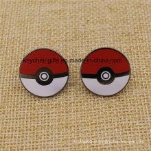 Emblemas duros feitos sob encomenda de Pokemon do metal do esmalte da forma quente da venda