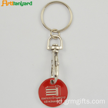 Trolley Coin Key Holder Oleh Embossed