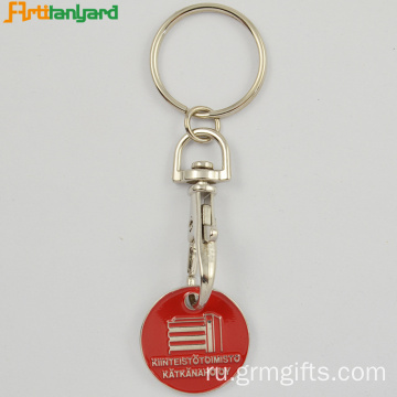 Trolley Coin Key Holder By Embossed