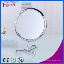 Fyeer 6 pouces rond double miroir de maquillage des mains (M5058)