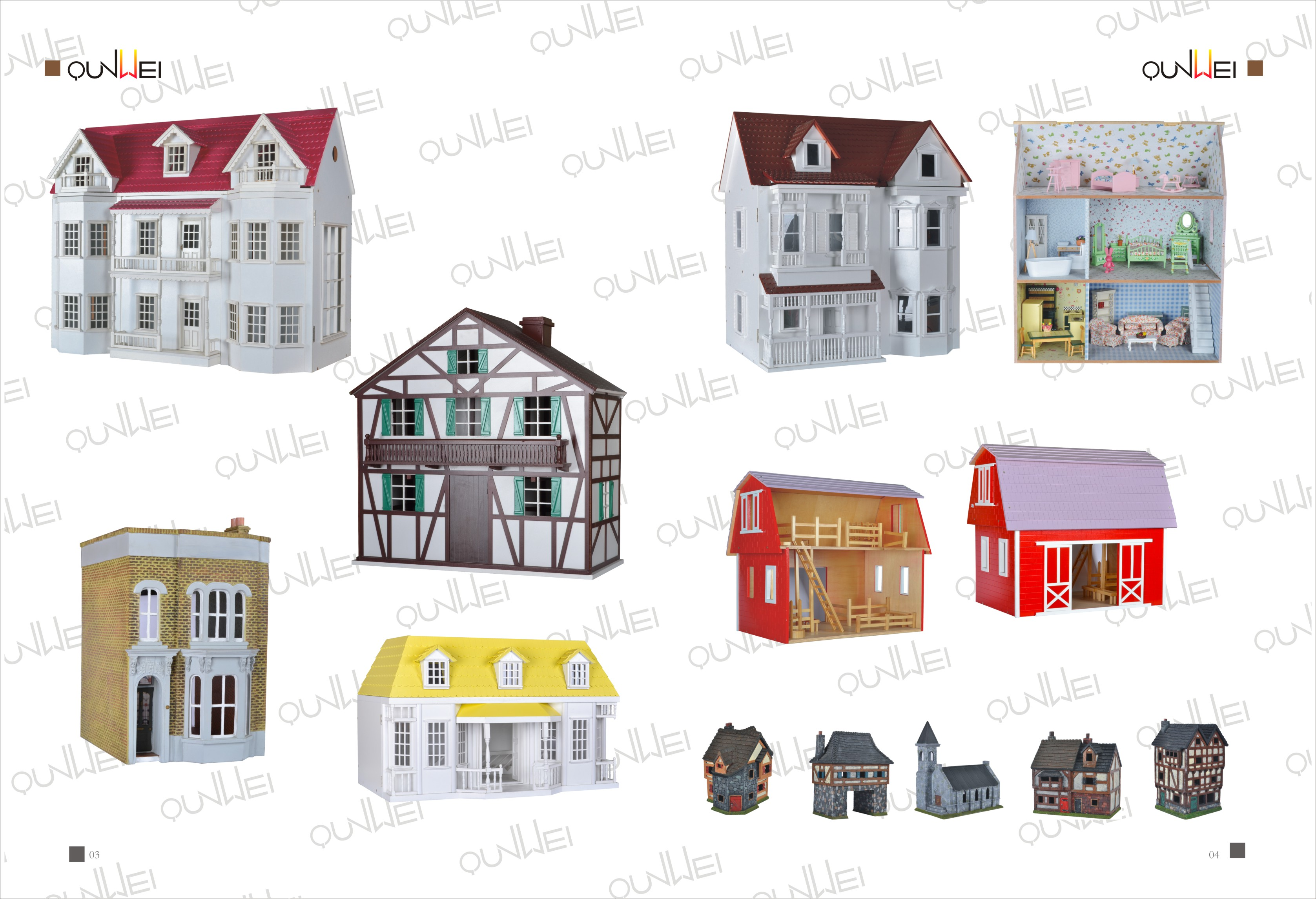 Dollhouse Kits 2