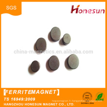 Good quality Powerful permanent Disc simple ferrite sintered Magnet