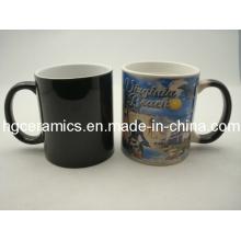 11oz Magic Mug, Black Color Change Mug