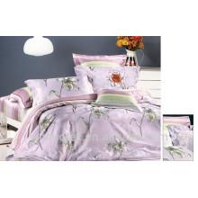 Conjunto de ropa de cama de salud natural, conjunto de ropa de cama de algodón simple, cama queen / twin