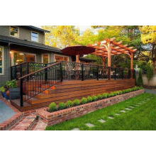 Windproof and Waterproof Cedar Wood Garden Gazebo