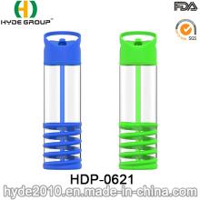 Botella de agua Tritan sin BPA de 700 ml con tapa (HDP-0621)