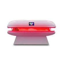 Красота использует спа-кровать для всего тела с красным светом