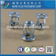 Taiwan M8 Flat Head Slotted Body Jack Nut Blind Rivet Nut