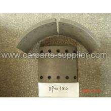 Non Asbestos BPW180 Revestimiento de freno