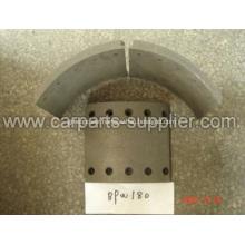 Non Asbestos BPW180 Brake lining