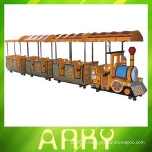Train de parc à thème d'attractions pour enfants