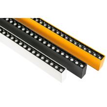 O escritório CRI90 Recessed montado superfície CRI90 conduziu a luz linear